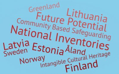 Webinaari aineettoman kulttuuriperinnön luetteloinnista Pohjoismaissa ja Baltiassa